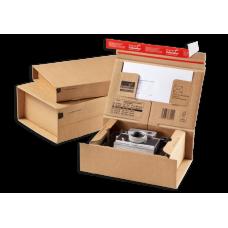 Siuntų dėžutės CP066.02  215x155x43 (A5)