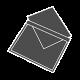 Gofruoto kartono vokai