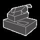Dėžės paštomatų terminalams