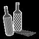 Vyno butelio pakuotė