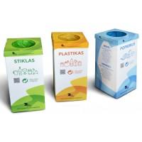 Didelis atliekų rūšiavimo rinkinys