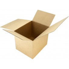 Gofruoto kartono dėžė 170x170x180
