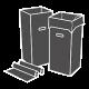 Atliekų rūšiavimo dėžės