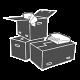 Logistines persikraustymo dėžės