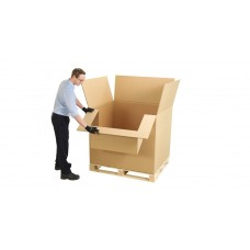 Paletė dėžė su atverčiamu liežuviu 1178x782x972 CB siūta