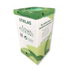 Atliekų rūšiavimo dėžė stiklui